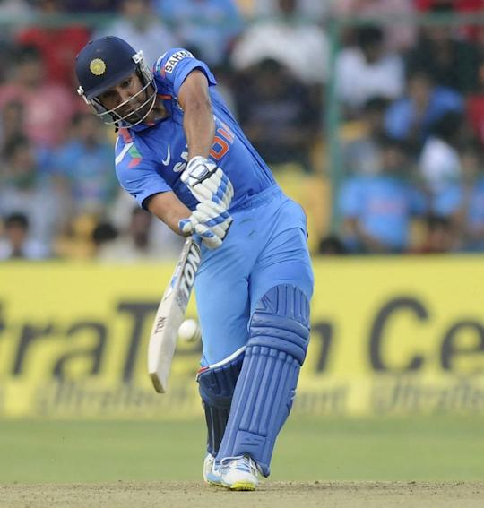 Rohit Sharma hit 209 against Australia at the Chinnaswamy Stadium in Bangalore.