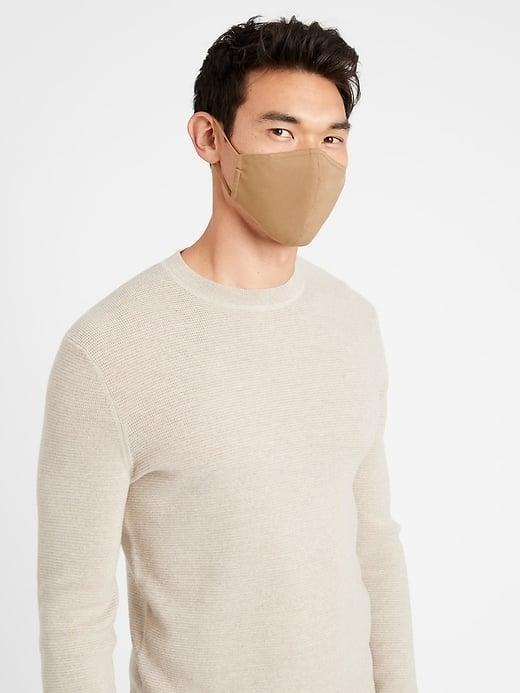 <p>I love the camel tones of this <span>Banana Republic True Hues Mask in Bold Bronze</span> ($9). I'd wear this now with a great cashmere beanie, camel coat, and neutral pants for a monotone look.</p>