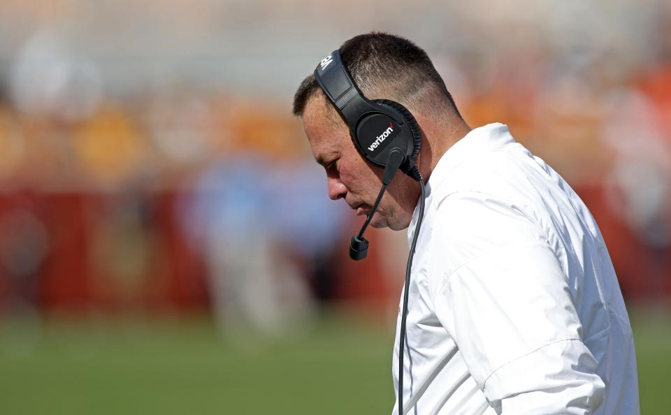 It doesn't appear that Butch Jones will be back at Tennessee next season. (AP)