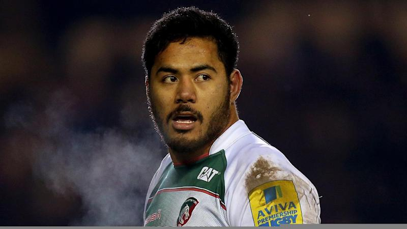 A knee injury has forced Manu Tuilagi to be withdrawn from the English rugby team's training camp.