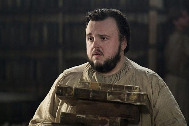 John Bradley as Samwell Tarly. (Photo: HBO)
