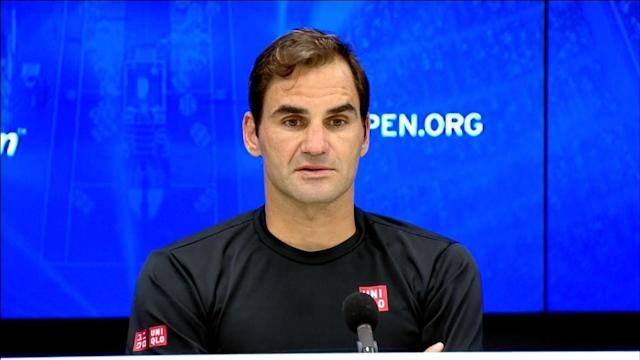 """<p>VIDEO SHOWS: ROGER FEDERER PRESS CONFERENCE</p> <p>SHOWS: NEW YORK CITY, NEW YORK, UNITED STATES (SEPTEMBER 3, 2019) (IMG / USTA - SEE RESTRICTIONS)</p> <p>1. (SOUNDBITE) (English) ROGER FEDERER SAYING: </p> <p> """"Just disappointed it's over because I did feel like I was actually playing really well after a couple of rocky starts. It's just a missed opportunity to some extent that you're in the lead, you can get through, you have two days off after. </p> <p> """"It was looking good.</p> <p> """"But you got to take the losses. They're part of the game.""""</p> <p>2. WHITE FLASH</p> <p>3. (SOUNDBITE) (English) ROGER FEDERER SAYING: </p> <p> """"I don't have the crystal ball. Do you?"""" We never know. I hope so, of course. I think still it's been a positive season. Disappointing now, but I'll get back up, I'll be all right.""""</p> <p>4. WHITE FLASH</p> <p>5. (SOUNDBITE) (English) ROGER FEDERER SAYING: </p> <p> """"I didn't think of it. If you move on, it's a thing of the past. I do remember playing good semis there, so it wasn't bad.""""</p> <p>6. WHITE FLASH</p> <p>7. (SOUNDBITE) (English) ROGER FEDERER SAYING: </p> <p> """"Laver Cup, Shanghai, Basel, maybe Paris, London. That's the schedule for now. I don't know if the team have other ideas or not. I'm happy to get a bit of a break now, go back to practice, reassess and attack from there.""""</p> <p>STORY: Fresh from a heart-breaking loss at the All-England Tennis Club, the abrupt end to Roger Federer's U.S. Open on Tuesday (September 3) raised questions whether the 38-year-old can deliver on a record-extending 21st Grand Slam title.</p> <p> Federer had hoped to shake off the agony of his most recent Wimbledon final, where the top prize slipped through his fingers and into the arms of frequent rival Novak Djokovic after he failed to convert two championship points. </p> <p> But unseeded Grigor Dimitrov thwarted the effort in Flushing Meadows in a five-set marathon, leaving a puzzled crowd to wonder if the Swiss will ever again hoist a Grand S"""