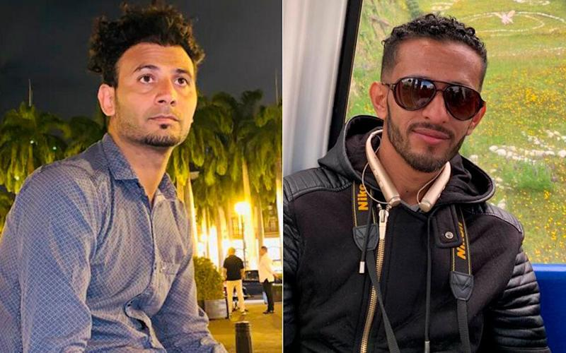 Osamah Mahyoub, left, and Emad Al-Azabi, right, have been detained since November 2019 and have been fighting to prove their asylum cases since. (Photo: Handout)
