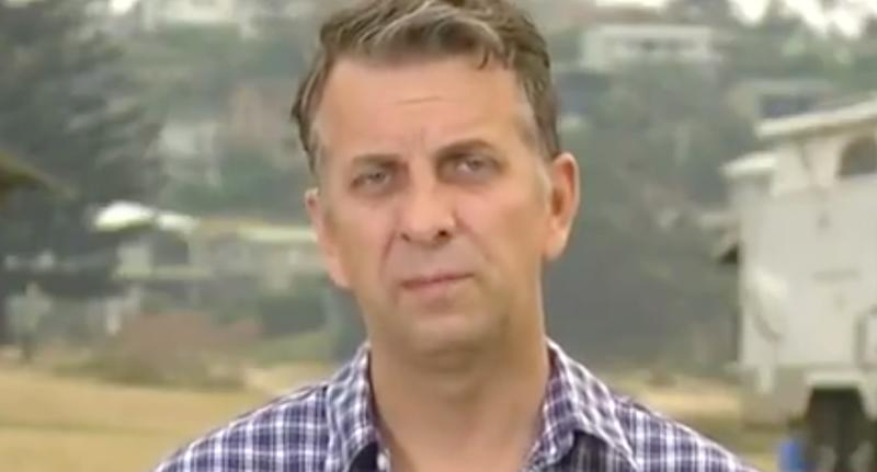 Bega MP Andrew Constance speaking to Sunrise about Scott Morrison's testy visit to Cobargo.