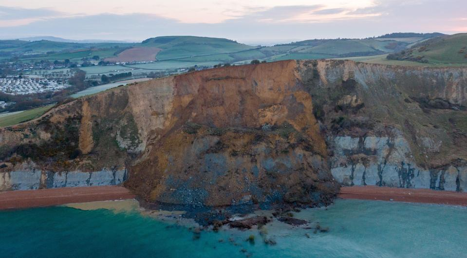 The cliff fall is thought to be the biggest in 60 years (Getty Images)