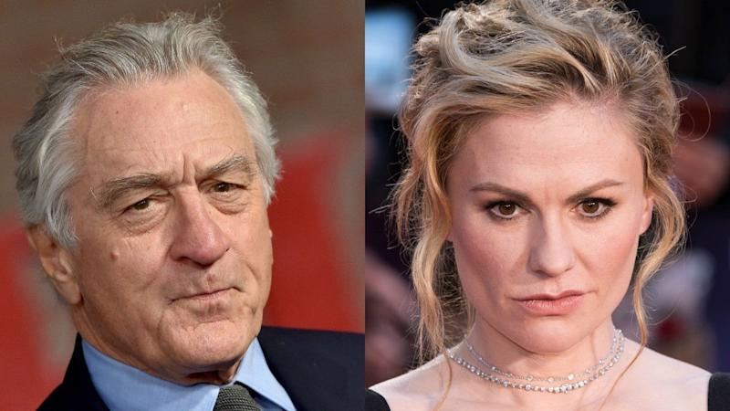 'The Irishman': Robert De Niro Reacts to Criticism Surrounding Anna Paquin's Mostly Silent Character