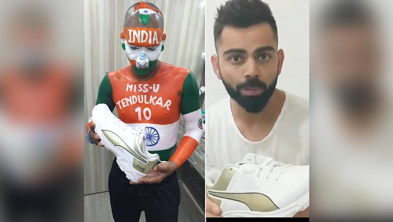 ICC Cricket World Cup 2019: Sachin Tendulkar's Super Fan Sudhir Kumar Is Missing Little Master in Upcoming CWC, Finds Virat Kohli to Cheer For