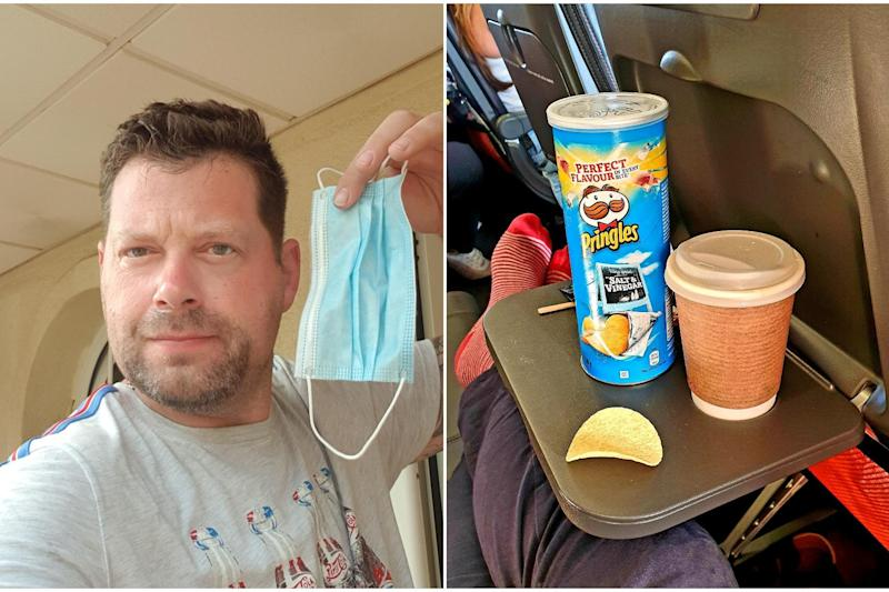 Michael Richards managed to make the Pringles last four hours: Michael Richards
