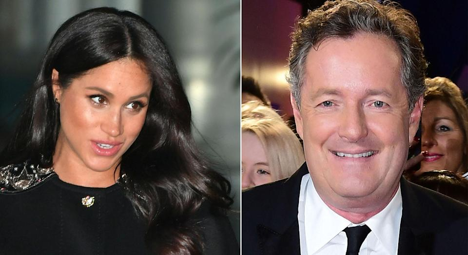 Piers Morgan labelled Meghan a 'social climber' on Australia's Today Show [Photos: PA]