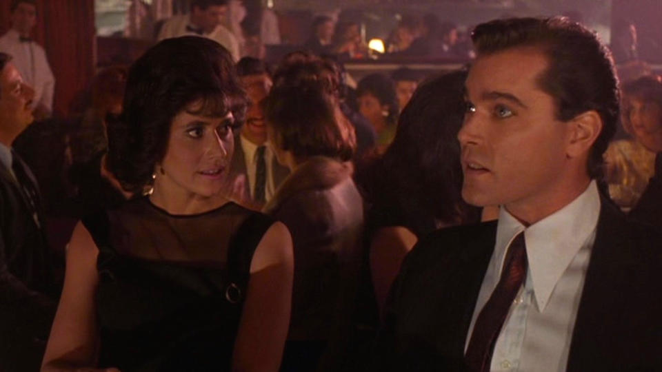 The Copacabana nightclub plays host to a famous long take in 'Goodfellas'. (Credit: Warner Bros)