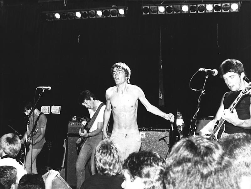 Feargal Sharkey (center) and the Undertones at the Whisky A Go Go in Los Angeles, CA, 1980 (Photo by Chris Walter/WireImage)