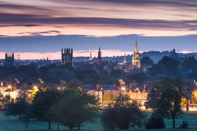 Oxford from South Park, Oxford, Oxfordshire, England, United Kingdom, Europe