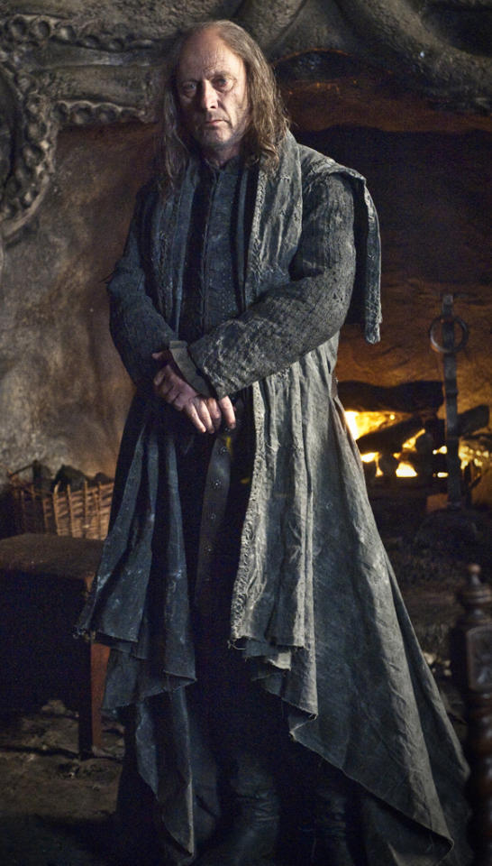 """<p><b>6. Balon Greyjoy (""""Game of Thrones"""") </b><br><br> His son is held hostage for nearly a decade in Winterfell, and instead of welcoming him home with open arms, he makes fun of his clothes, calls him a whore, and essentially shuns him for siding with his captors. Then he gives him a crappy boat and a ridiculous mission, then slaps him across the face. Admittedly, we want to smack Theon most of the time, too, but he's not our flesh and blood.</p>"""