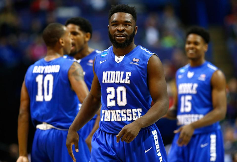 <p>Potts was instrumental in Middle Tennessee State's upset of Michigan State last season. </p>