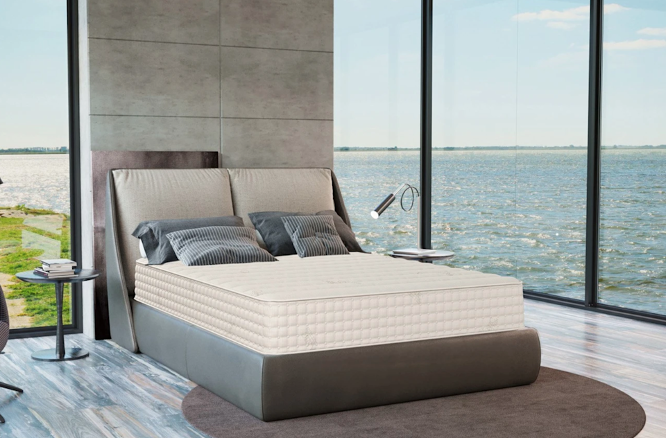 """<h3>Plush Beds</h3><br><strong>Sale:</strong> $1,200 off mattresses plus a free sheet set; 25% off toppers and bedding<br><strong>Dates:</strong> Now - September 6<br><strong>Promo Code: </strong>None<br><br><em>Shop </em><strong><em><a href=""""https://www.plushbeds.com/"""" rel=""""nofollow noopener"""" target=""""_blank"""" data-ylk=""""slk:Plush Beds"""" class=""""link rapid-noclick-resp"""">Plush Beds</a></em></strong><br><br><strong>PlushBeds</strong> Organic Latex Mattress: The Botanical Bliss®, $, available at <a href=""""https://go.skimresources.com/?id=30283X879131&url=https%3A%2F%2Fwww.plushbeds.com%2Fproducts%2Fthe-botanical-bliss-organic-latex-mattress"""" rel=""""nofollow noopener"""" target=""""_blank"""" data-ylk=""""slk:PlushBeds"""" class=""""link rapid-noclick-resp"""">PlushBeds</a>"""