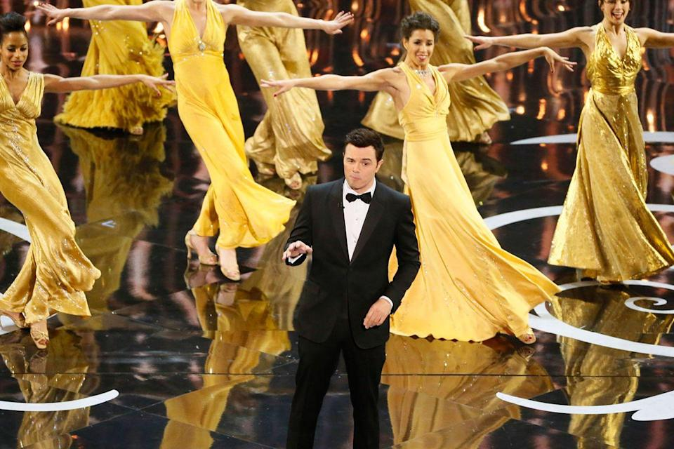 <p>Seth MacFarlane sang and danced the night away while MC-ing the 85th Academy Awards.</p>