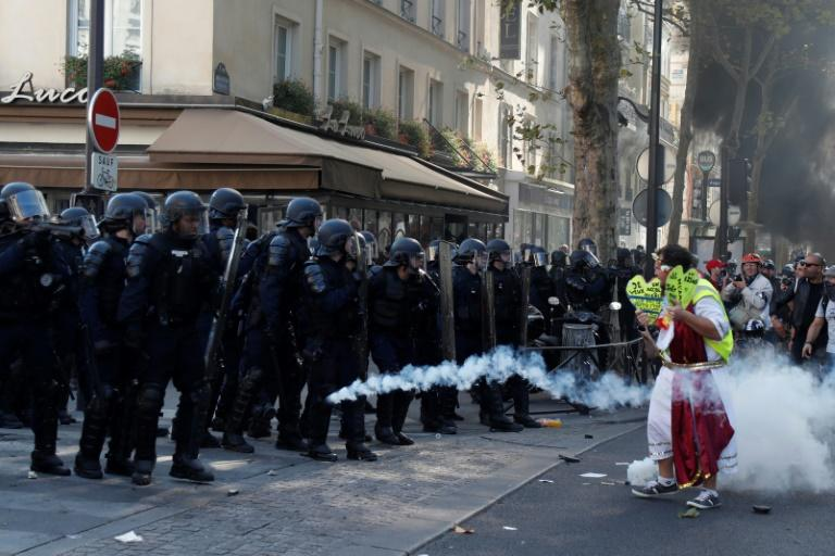 Paris mobilised 7,500 members of the police for Saturday's protests
