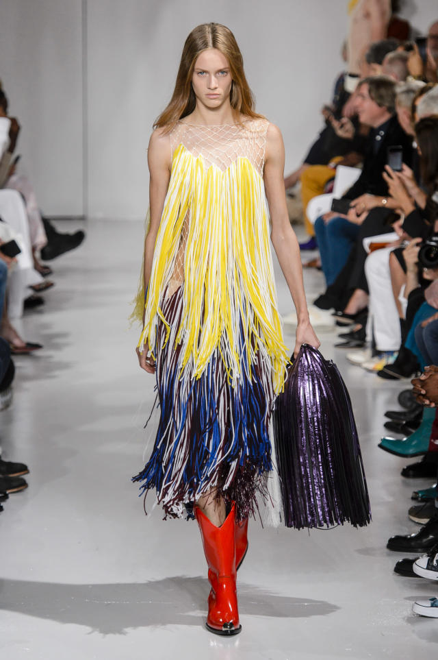 <p><i>A model in fringe. (Photo: ImaxTree) </i></p>