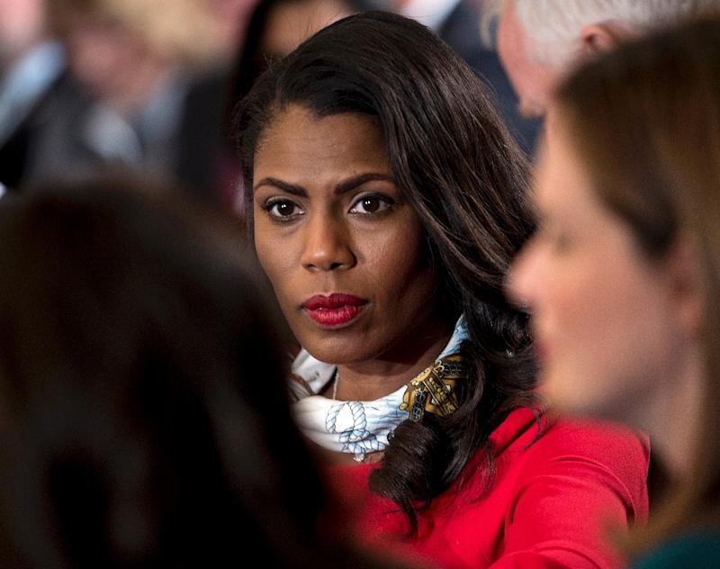 Omarosa In New Book: I Saw Trump's Racism 'With My Own Eyes'