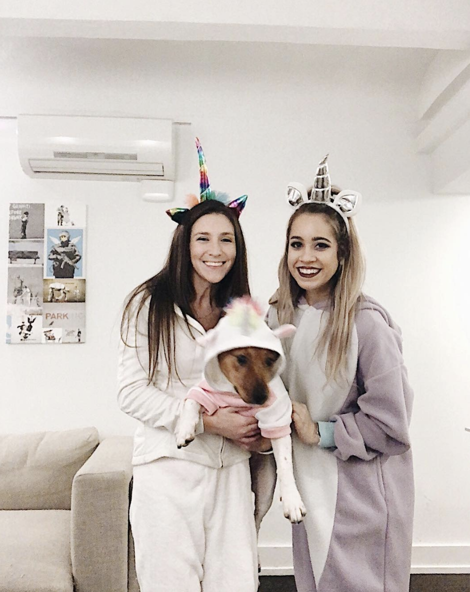 """<p>Wearing cozy sweats or a onesie to a party? Sign us up. All you'll need for this comfy costume are some headbands. </p><p><a class=""""link rapid-noclick-resp"""" href=""""https://www.amazon.com/Lemoncy-Headband-Birthday-Accessory-Decoration/dp/B076KR9QDV/?tag=syn-yahoo-20&ascsubtag=%5Bartid%7C10072.g.27868790%5Bsrc%7Cyahoo-us"""" rel=""""nofollow noopener"""" target=""""_blank"""" data-ylk=""""slk:Shop Headband"""">Shop Headband</a></p>"""