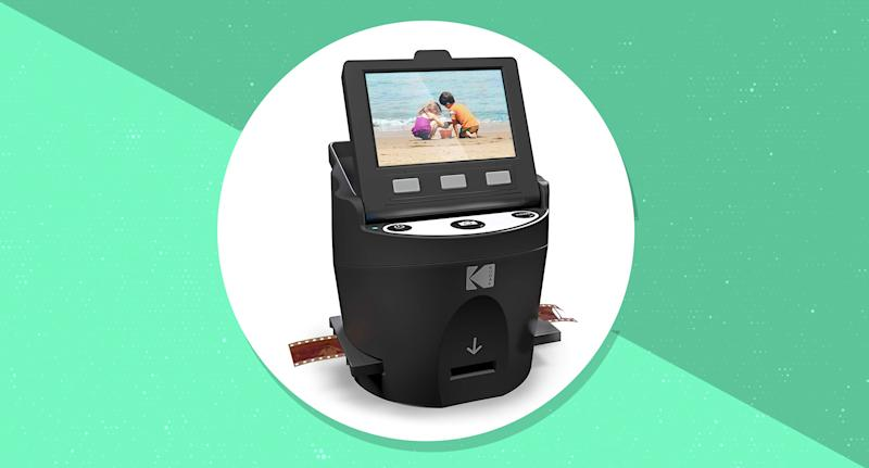 The popular scanner turns all of your memories into digital files in seconds — and it's on sale for a ridiculously low price. (Photo: Amazon)