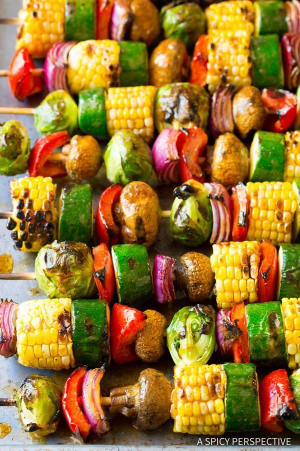 """<p>Healthy fajitas? We're here for it.</p><p>Get the recipe from <a href=""""http://www.aspicyperspective.com/grilled-fajita-vegetable-skewers/2/"""" rel=""""nofollow noopener"""" target=""""_blank"""" data-ylk=""""slk:A Spicy Perspective"""" class=""""link rapid-noclick-resp"""">A Spicy Perspective</a>.</p>"""