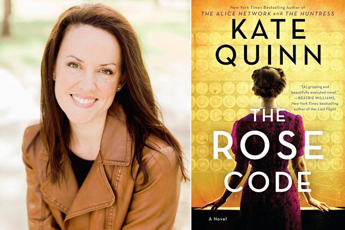 "<p>""I'm currently obsessing over Kate Quinn's <i>The Rose Code</i>, which is about three female codebreakers working at Bletchley Park during WWII. We learn early in the book that these three women, initially the best of friends, have a mysterious falling-out and one of them lands in an asylum. I'm turning the pages as fast as I can to learn <i>why</i>, which makes me feel a bit like one of the codebreaker characters myself. There are a few romantic entanglements, too. Who knew ciphers could be so sexy?"" — Sarah Penner, author of <em>The Lost Apothecary</em></p>"