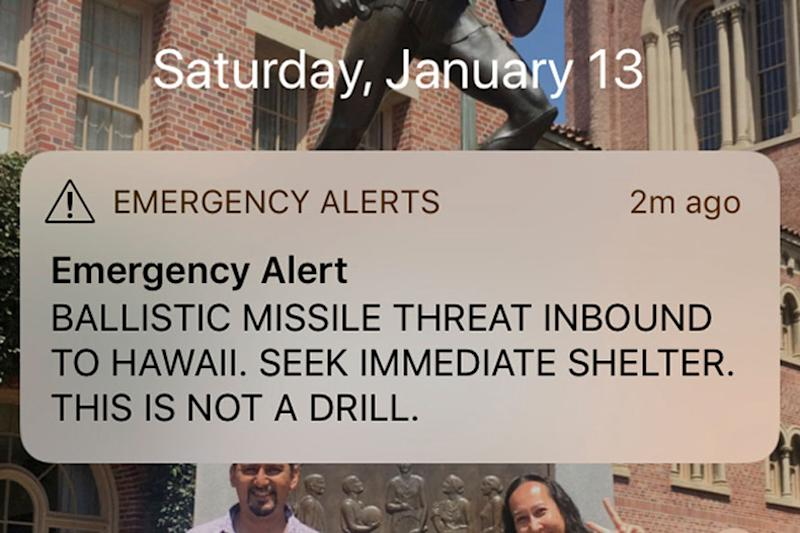 Hawaii Man Ends Silence on False Missile Alert That Got Him Fired