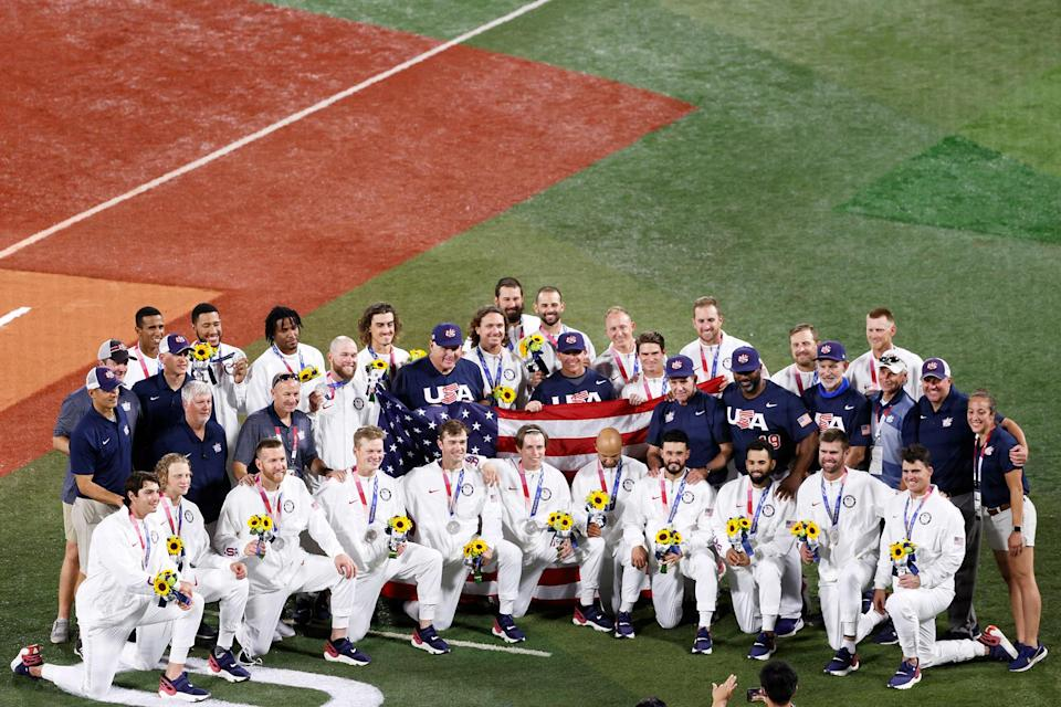 """<p>Mike Scioscia: """"Our team played really under such different circumstances than they usually face back in the States in a normal season. Every game was a Game 7. We got within a couple breaks of winning the gold medal.""""</p>"""
