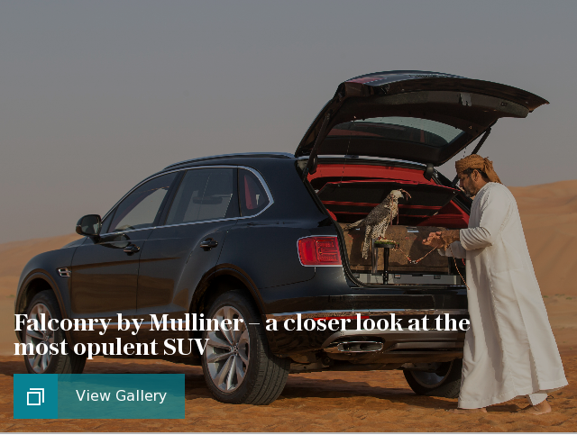 Falconry by Mulliner – an opulent upgrade for your luxury SUV