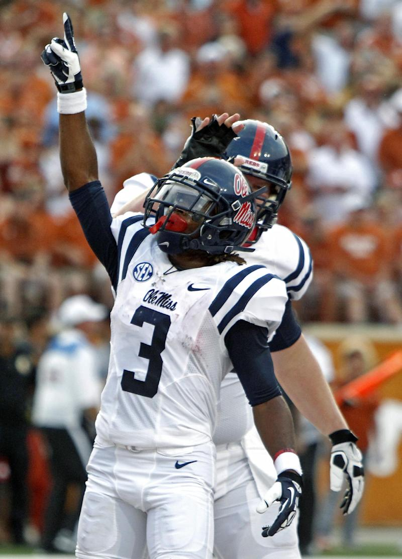 Scott, No. 25 Ole Miss roll over Texas 44-23