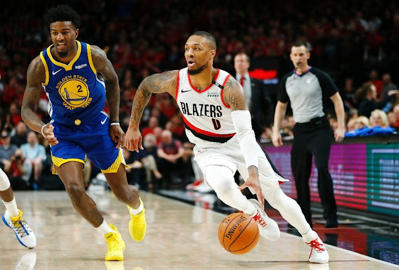 big sale c20fe 2866d Trail Blazers guard Lillard wins NBA Citizenship Award