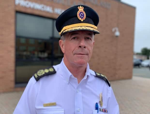 Royal Newfoundland Constabulary Chief Joe Boland is set to retire at the end of July.  (Mark Quinn/CBC - image credit)