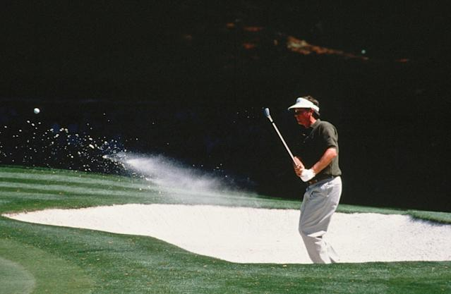 <p>Donald's experience at the 1990 Masters is a tale of two rounds. On Thursday, in his first appearance at Augusta National, Donald lit up the scoreboard to the tune of an eight-under 64. Sadly, his stay atop was not to be, as Donald went 18 shots higher on Day 2. The weekend wasn't much better with a 77 and 76.</p>