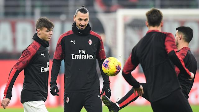 The Rossoneri manager has hailed the arrival of the Swedish star, noting he's an excellent role model for his relatively young side