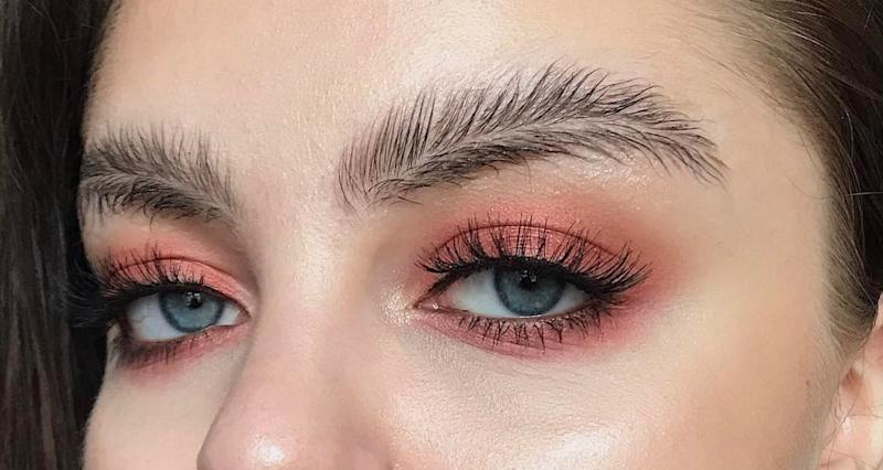Featherbrow trend