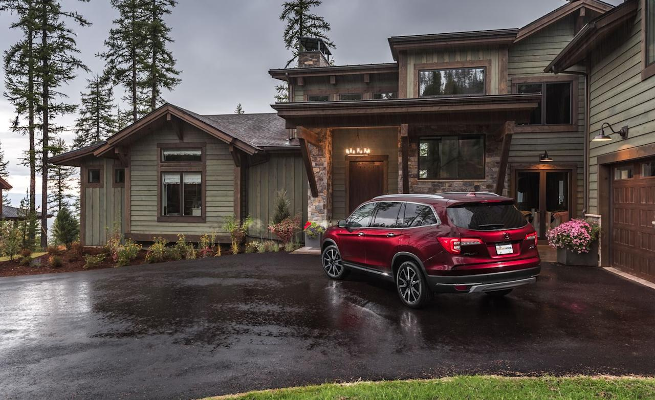 "<p>The network includes a new car in most of its annual giveaway contests, and Honda is now the manufacturer of choice; last year, the show bundled a 2018 <a rel=""nofollow"" href=""https://www.caranddriver.com/honda/accord"">Accord</a> with a Seattle retreat on Puget Sound. Earlier winners bagged Mercedes-Benz GLE and GLC plug-in hybrids, but at least the free Pilot is the fully loaded Elite trim and was <a rel=""nofollow"" href=""https://www.caranddriver.com/news/2019-honda-pilot-nipped-tucked-and-knobbed-official-photos-and-info"">refreshed for the 2019 model year</a>.</p>"