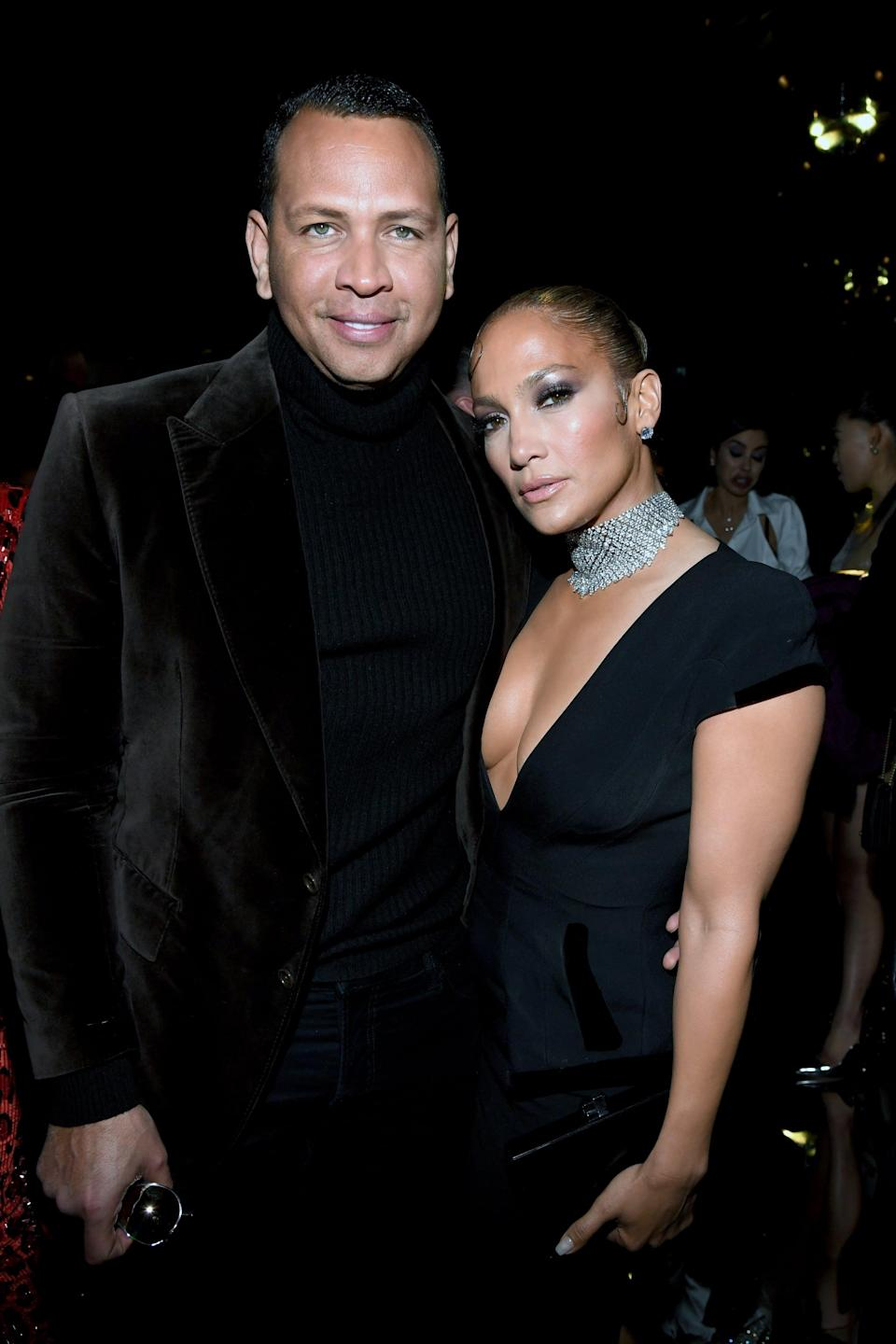 """<p><a href=""""https://www.popsugar.com/celebrity/jennifer-lopez-alex-rodriguez-break-up-48214923"""" class=""""link rapid-noclick-resp"""" rel=""""nofollow noopener"""" target=""""_blank"""" data-ylk=""""slk:The pair went their separate ways"""">The pair went their separate ways</a> after four years together in April. """"We have realized we are better as friends and look forward to remaining so,"""" they said in a joint statement to <strong>Today</strong>. """"We will continue to work together and support each other on our shared businesses and projects. We wish the best for each other and one another's children. Out of respect for them, the only other comment we have to say is thank you to everyone who has sent kind words and support."""" <a href=""""http://www.popsugar.com/celebrity/jennifer-lopez-ben-affleck-pictures-48406785"""" class=""""link rapid-noclick-resp"""" rel=""""nofollow noopener"""" target=""""_blank"""" data-ylk=""""slk:Jennifer has since rekindled her romance with Ben Affleck"""">Jennifer has since rekindled her romance with Ben Affleck</a></p> <p>.</p>"""