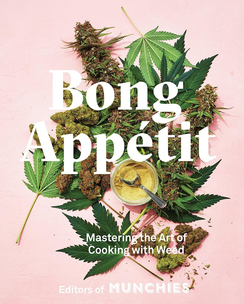 <p>If you want to make elevated and sophisticated recipes using cannabis, check out the <span>Bong Appétit: Mastering the Art of Cooking with Weed by Editors of MUNCHIES</span> ($19). It goes in-depth in breaking down the science of cannabis infusion and politics. It features delectable recipes like weed butter-basted chicken, french bread pizza, and weed brownie sundae. It has 4.8 stars with over 1,500 reviews on Amazon! </p>