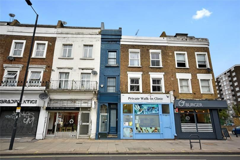 London's narrowest house in Shepherd's Bush. Source: Winkworth
