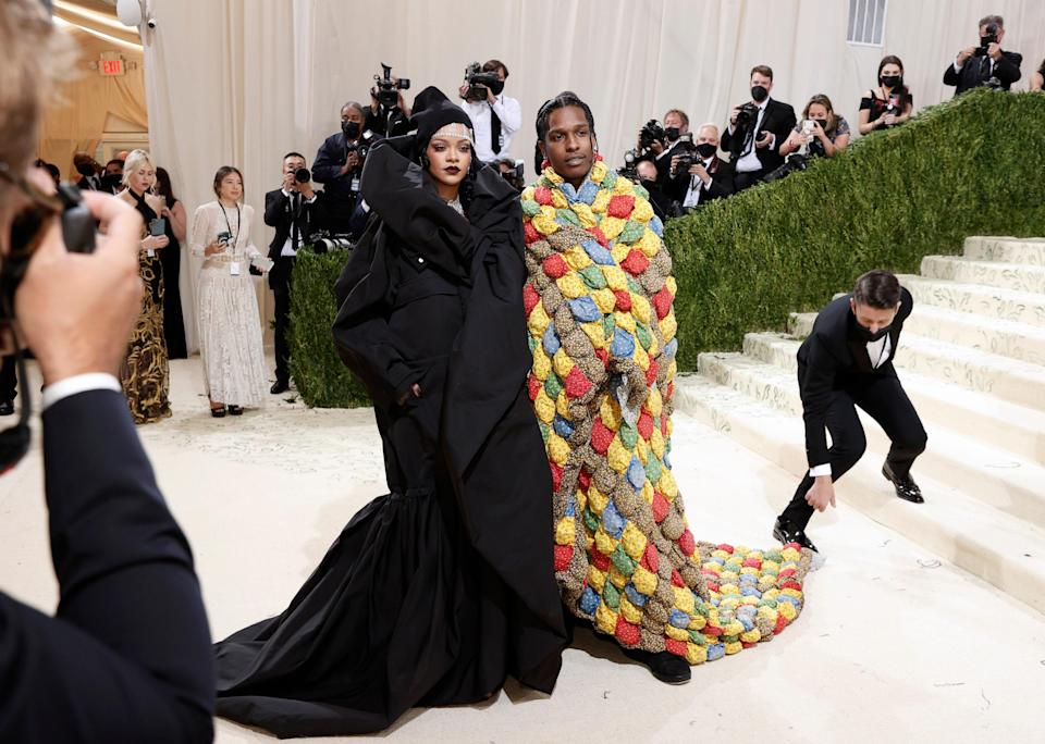 """<h1 class=""""title"""">The 2021 Met Gala Celebrating In America: A Lexicon Of Fashion - Red Carpet</h1><cite class=""""credit"""">Arturo Holmes/MG21/Getty Images</cite>"""
