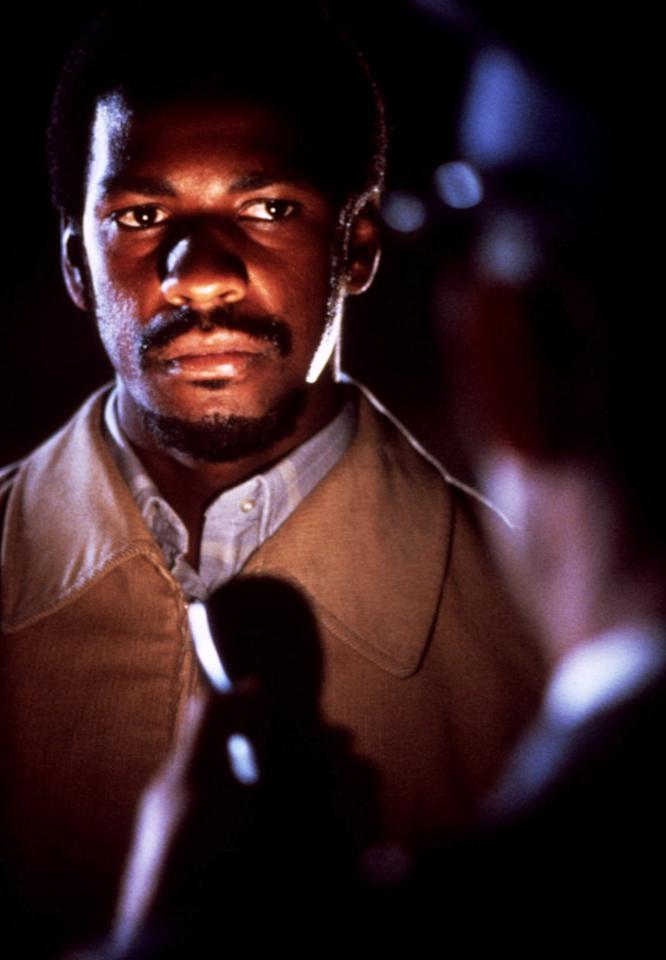 """<a href=""""http://movies.yahoo.com/movie/1800052312/info"""">CRY FREEDOM</a> (1987)   Washington's next big turn was as murdered South African anti-apartheid activist Steve Biko in this biopic directed by Richard Attenborough. Though the movie itself received mixed reviews, critics were wowed by Washington's quietly powerful performance. He garnered his first Oscar nomination for his efforts."""