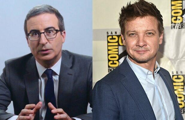 John Oliver Mocks Jeremy Renner's Album of 'Music-Like Noises' While Defending USPS (Video)