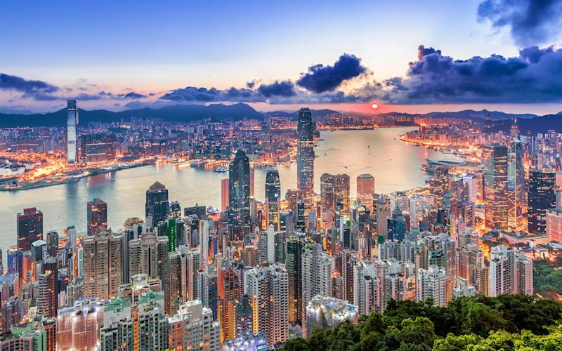 Hong Kong's skyline has been deemed one of the best in the world - EarnestTse