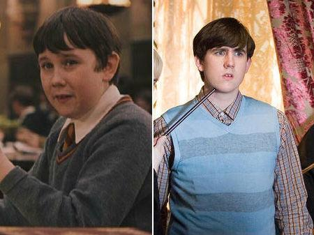 """<p>Who could forget the lovable yet awkward Neville Longbottom, played by Matthew Lewis? Starting out aged 11 in """"Philosopher's Stone,"""" Matthew has had the most dramatic on-screen transformation. So what's in store for Neville in """"Deathly Hallows?"""" The awkward wizard stays at Hogwarts to hold down the fort, getting in some fierce battles in the process.</p>"""