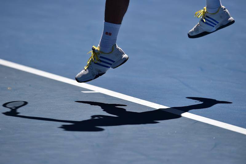 Police are reportedly monitoring the first round of the Australian Open for suspicious results after claims that corruption in tennis is widespread (AFP Photo/Saeed Khan)