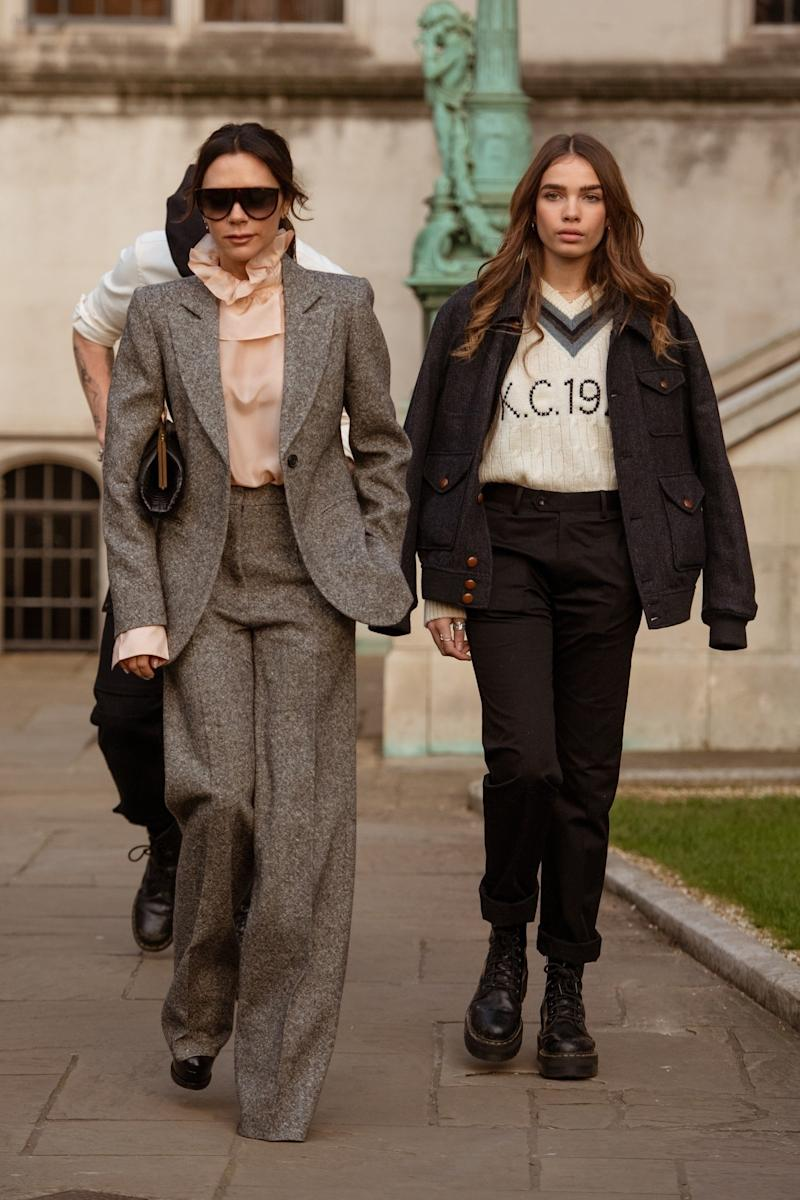 Image result for Victoria Beckham's New Fashion Pal? Her Son Brooklyn's New Girlfriend