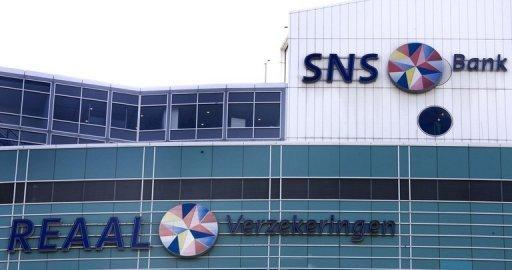SNS Reaal Bank headquarters in Utrecht on August 15, 2008