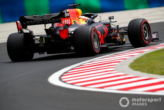 "Max Verstappen, Red Bull Racing RB16 <span class=""copyright"">Charles Coates / Motorsport Images</span>"