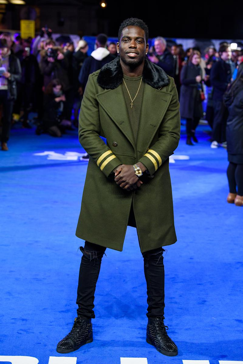 "Marcel Somerville attends the ""Blue Story"" world premiere at Picturehouse Central on November 14, 2019 in London, England. (Photo by Joe Maher/Getty Images)"